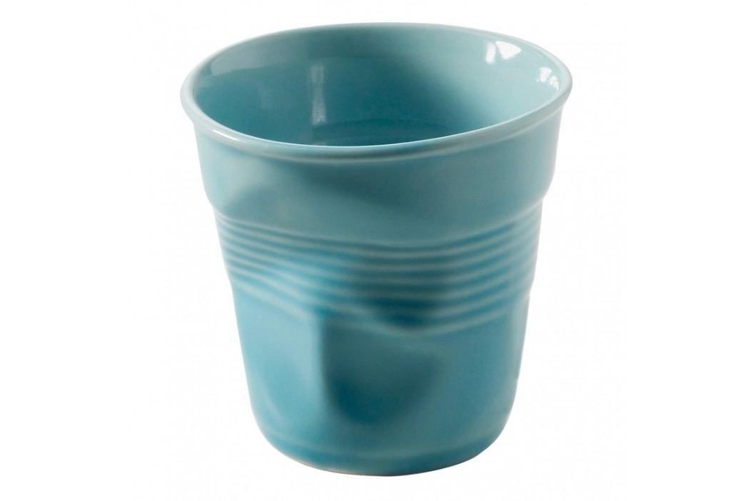 REVOL Téglik na cappuccino 18 cl karibská modrá Froissés