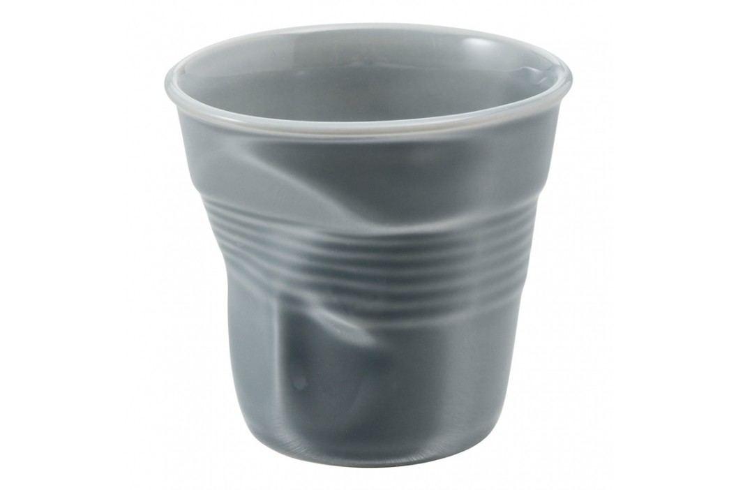 REVOL Téglik na espresso 8 cl sivá Froissés