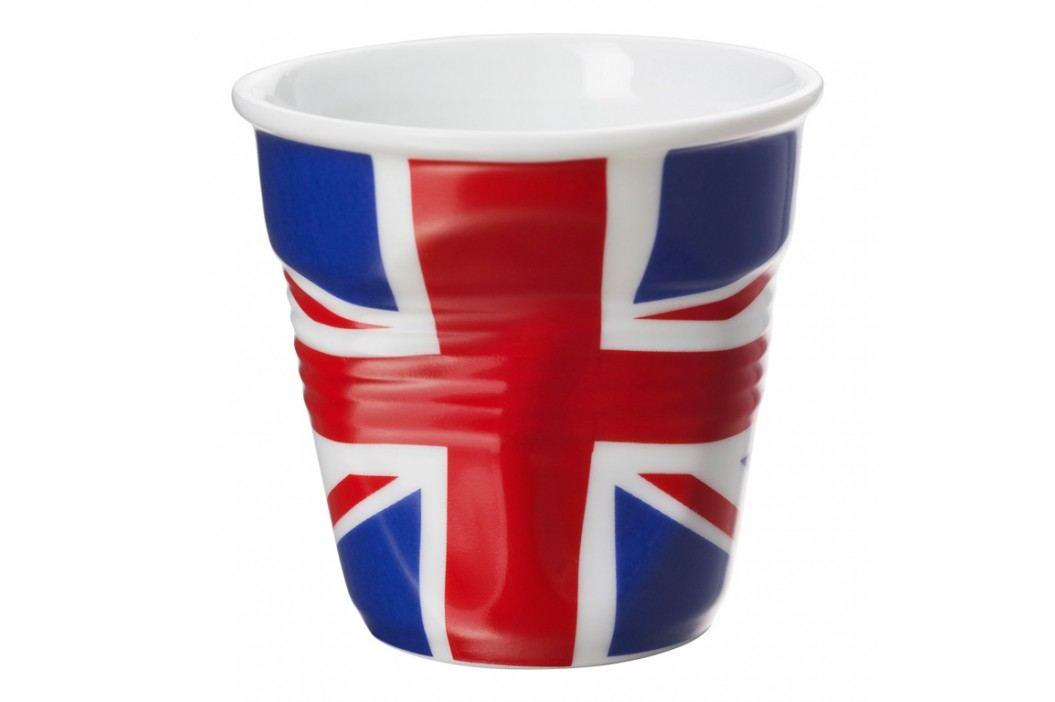 REVOL Téglik na espresso 8 cl s britskou vlajkou Froissés