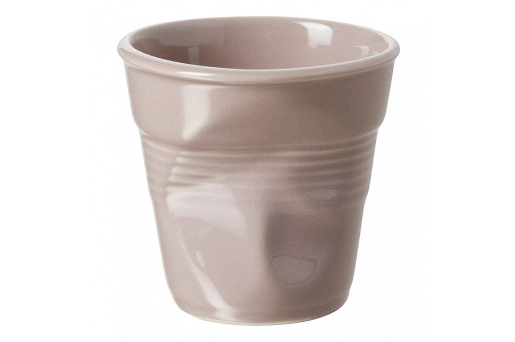 REVOL Téglik na espresso 8 cl sivohnedý Froissés