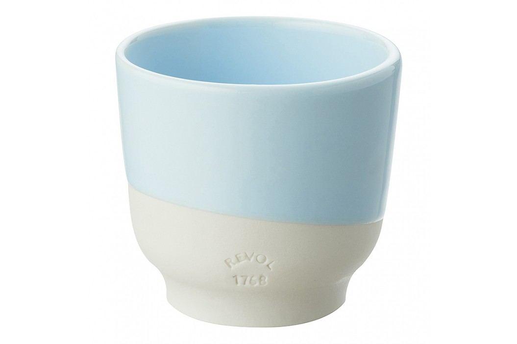 REVOL Pohárik na espresso 8 cl modrá Fjord Color Lab