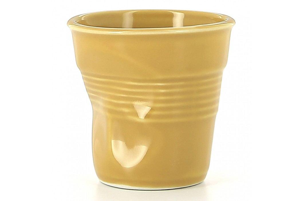 REVOL Téglik na cappuccino 18 cl šafránovožltý Froissés