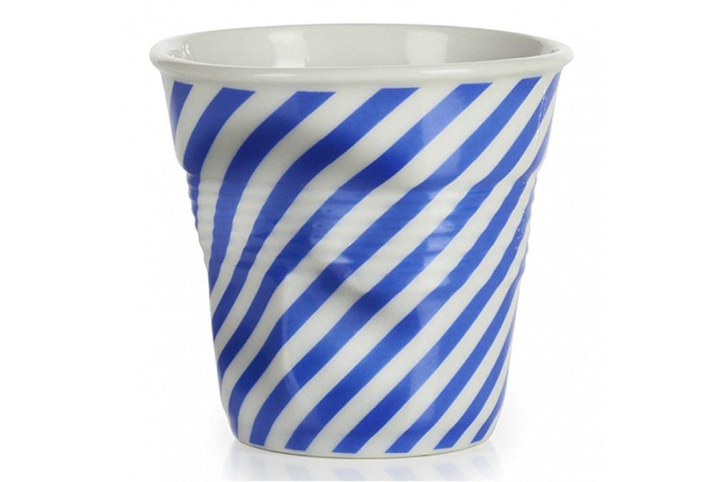 REVOL Téglik na espresso 8 cl modrá Berlingot Froissés