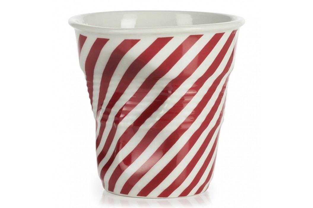 REVOL Téglik na cappuccino 18 cl červená Berlingot Froissés
