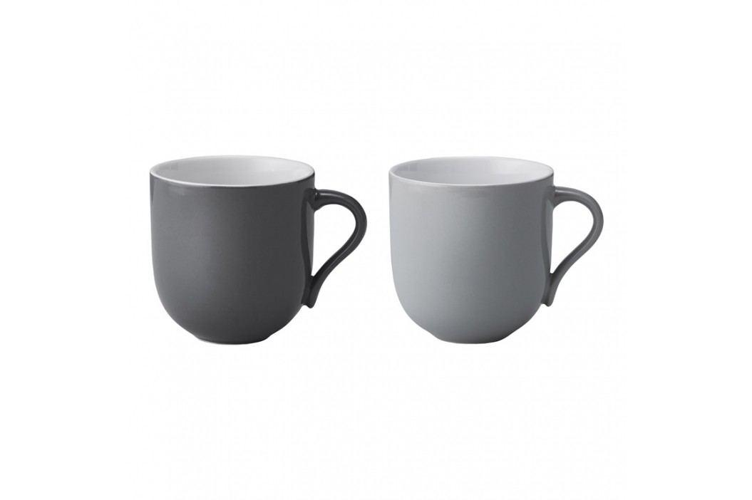 Stelton Hrnčeky na čaj veľké Emma grey 2 ks danish modern 2.0