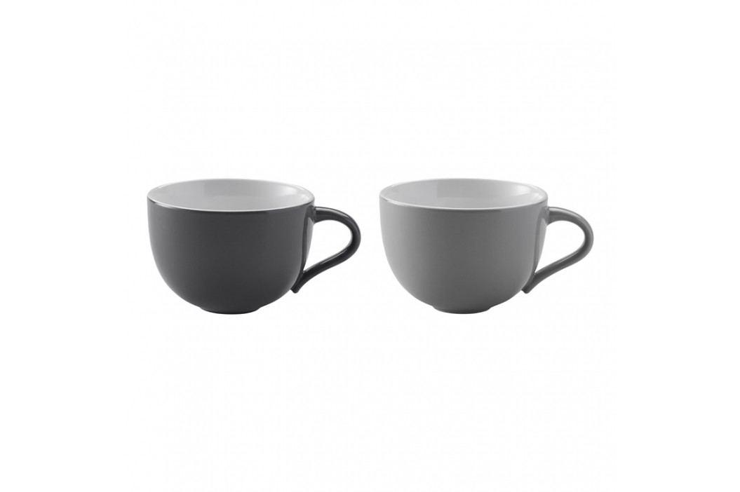 Stelton Hrnčeky na kávu malé Emma grey 2 ks danish modern 2.0
