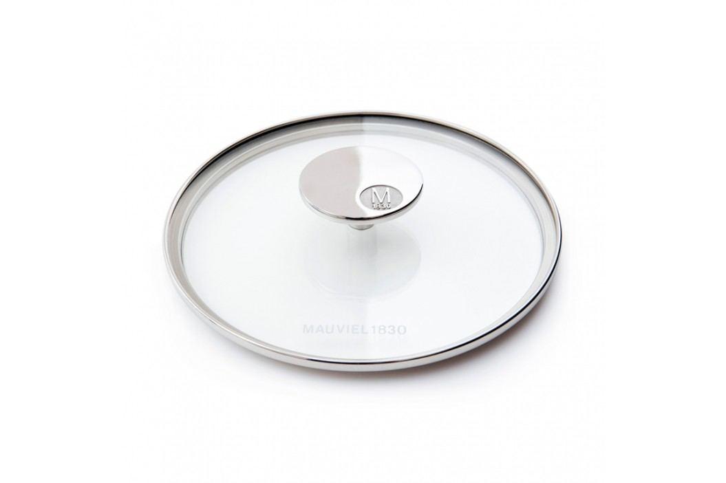 MAUVIEL Sklenená pokrievka s držadlom z nehrdzavejúcej ocele Ø 30 cm