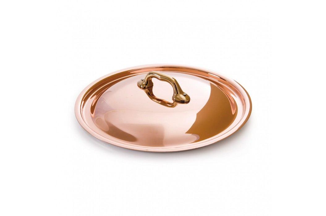 MAUVIEL Medená pokrievka s bronzovým držadlom Ø 14 cm M'heritage