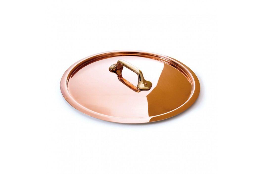 MAUVIEL Medená pokrievka s bronzovým držadlom Ø 28 cm M'tradition