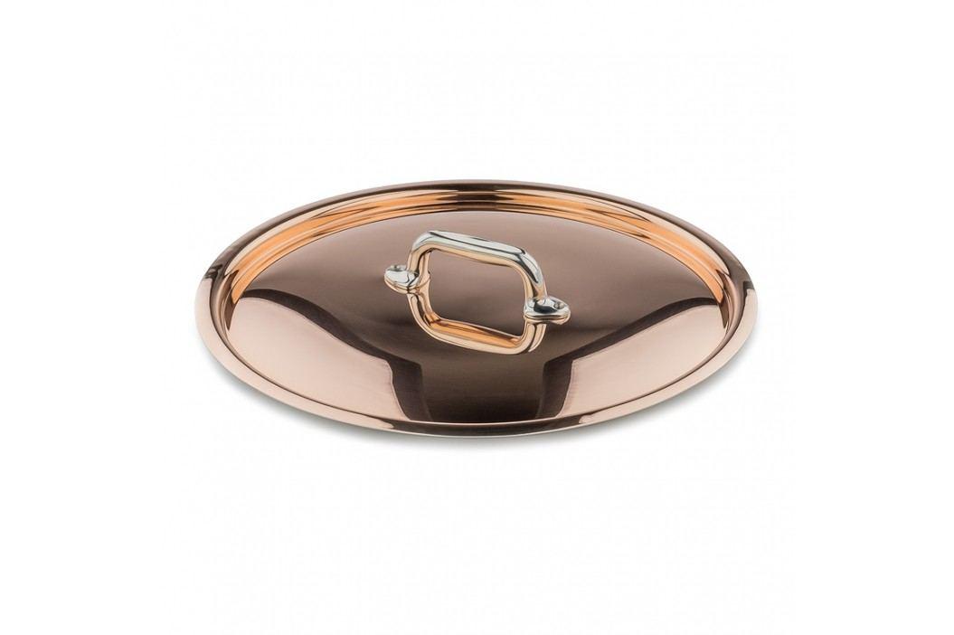 MAUVIEL Medená pokrievka s držadlom z nehrdzavejúcej ocele Ø 28 cm