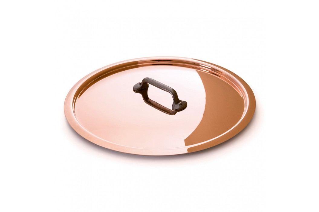 MAUVIEL Medená pokrievka s liatinovým držadlom Ø 18 cm