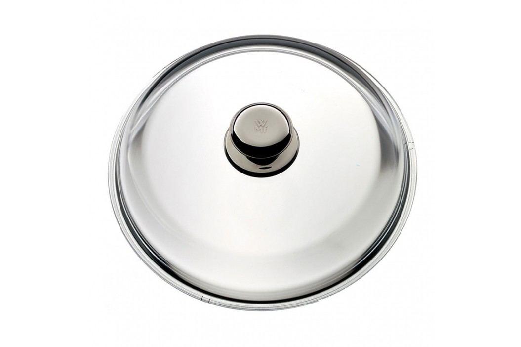 WMF Sklenená pokrievka 28 cm s kovovým držadlom