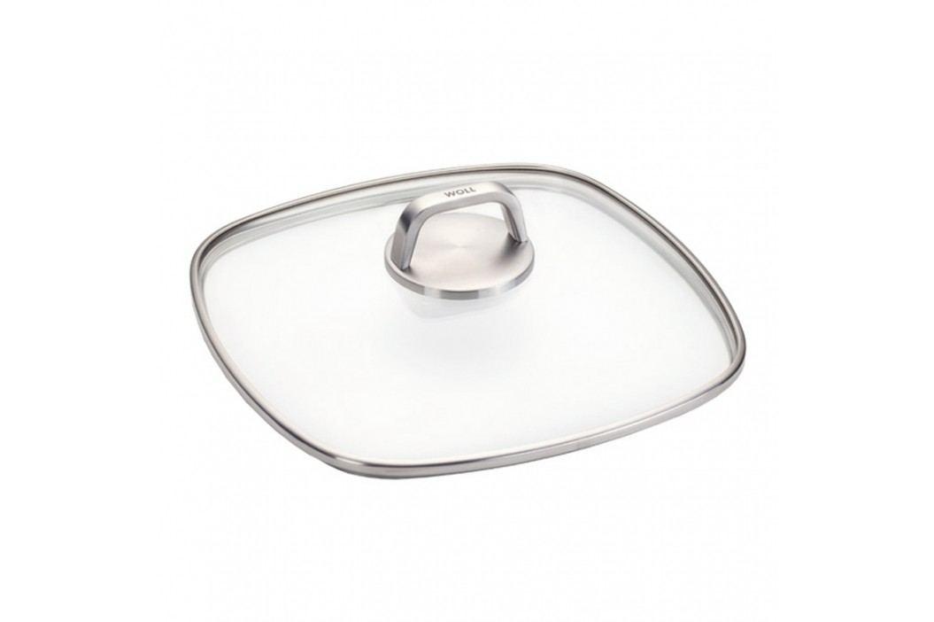 WOLL Sklenená pokrievka 22 × 22 cm Diamond Lite PRO