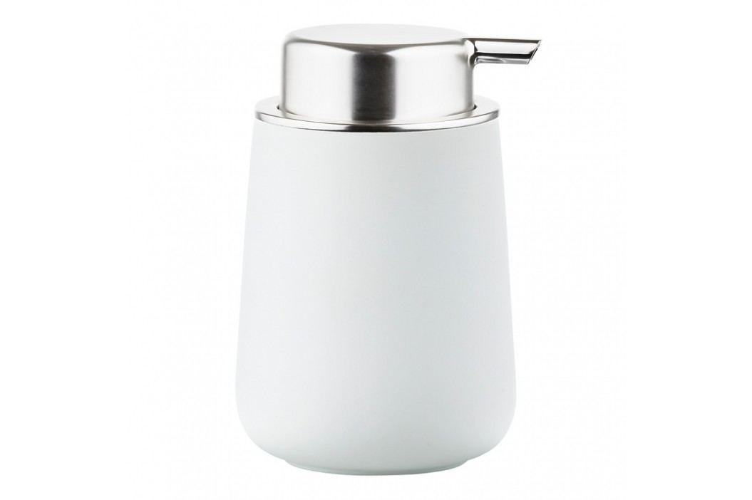 ZONE Dávkovač mydla porcelánový 11,5 cm white NOVA ONE
