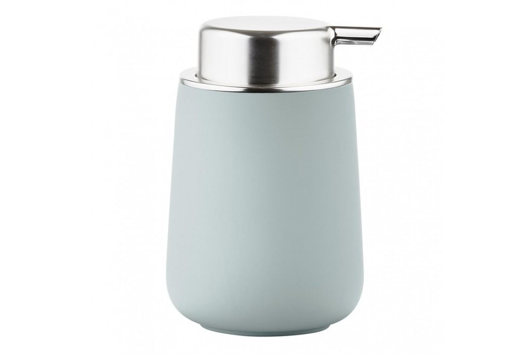 ZONE Dávkovač mydla porcelánový 11,5 cm dusty green NOVA ONE