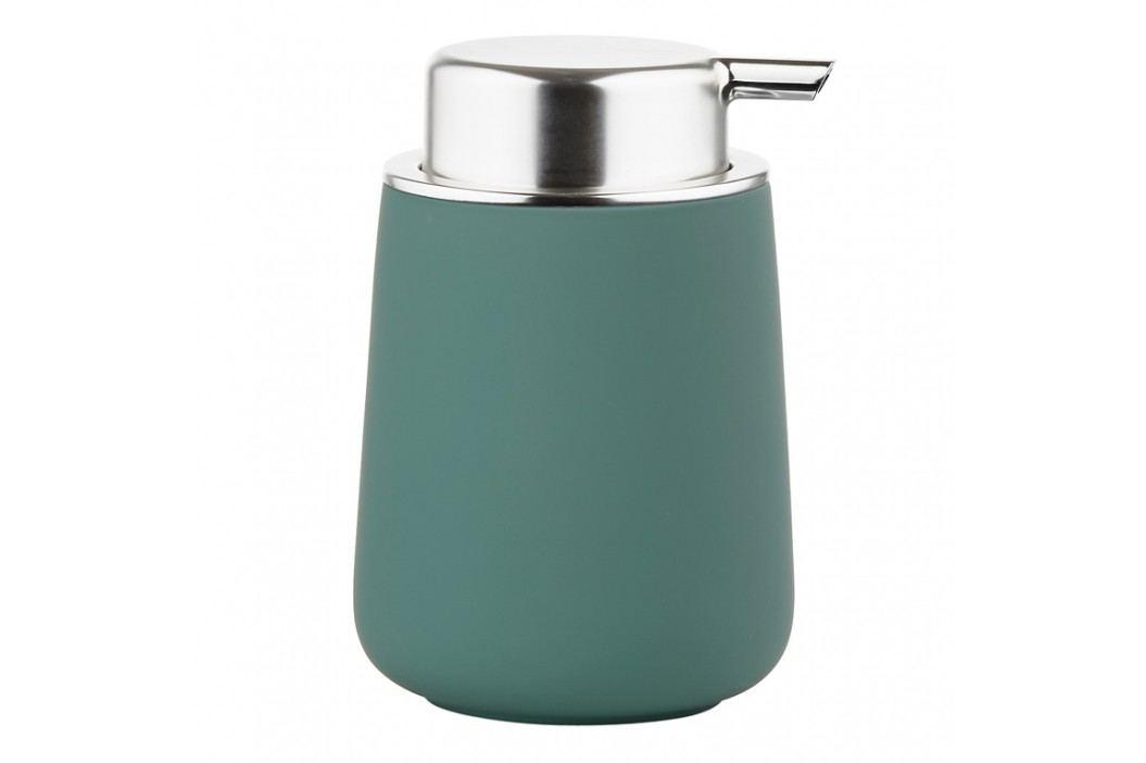 ZONE Dávkovač mydla porcelánový 11,5 cm petrol green NOVA ONE