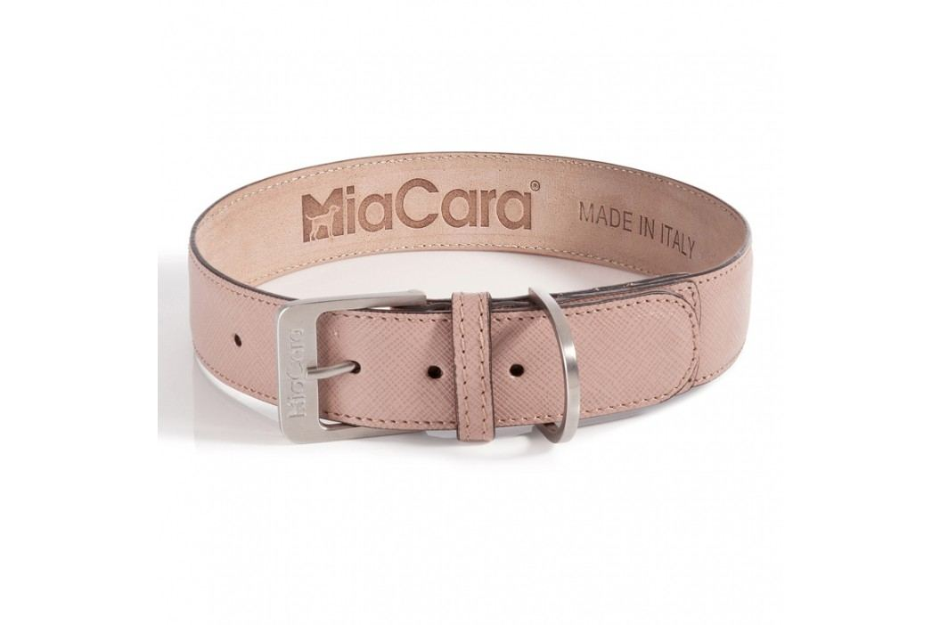 MiaCara Obojok Torino pudrový S/M