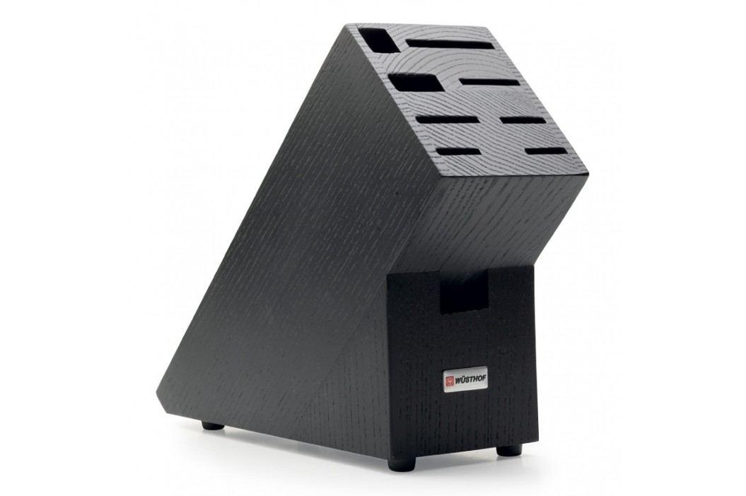 WÜSTHOF Blok na nože drevený na 9 kusov čierny
