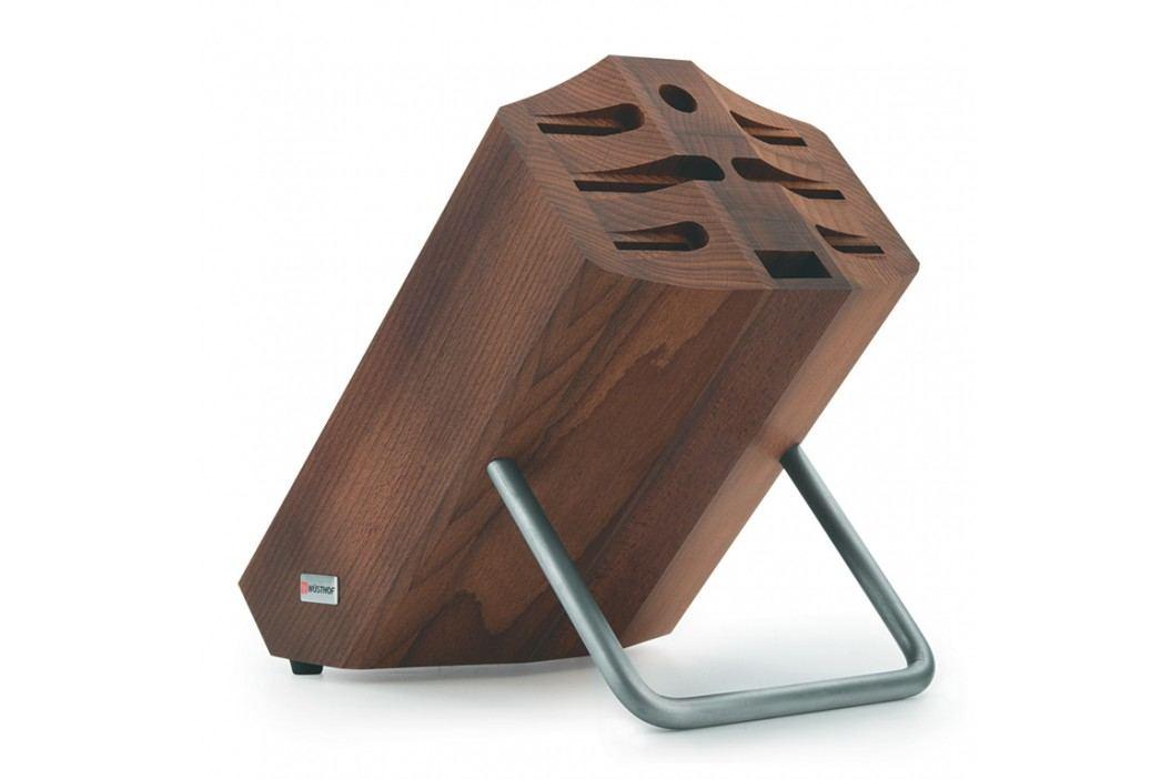 WÜSTHOF Blok na nože drevený na 8 kusov hnedý