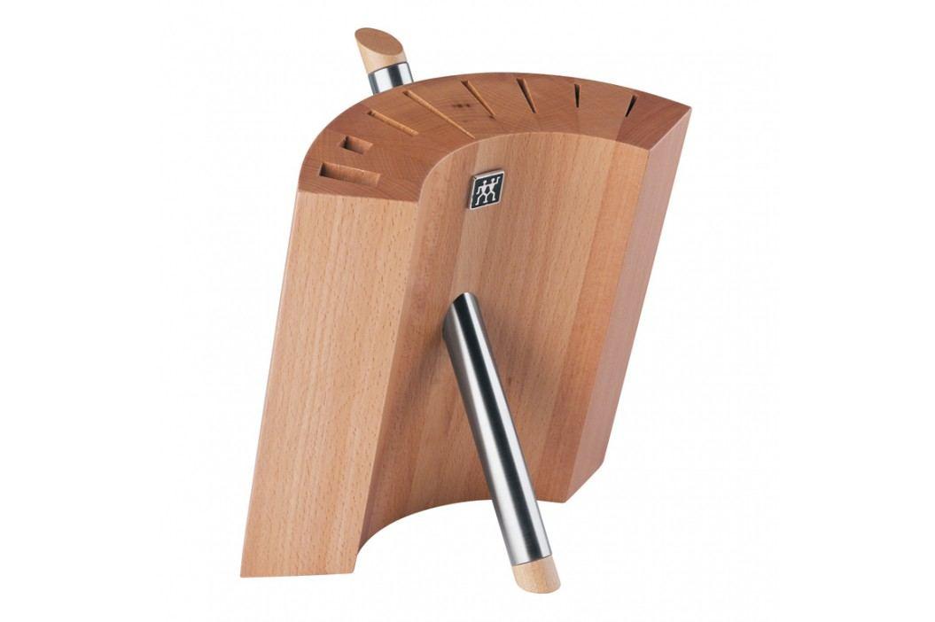 ZWILLING Blok na nože pologuľatý drevený na 8 kusov