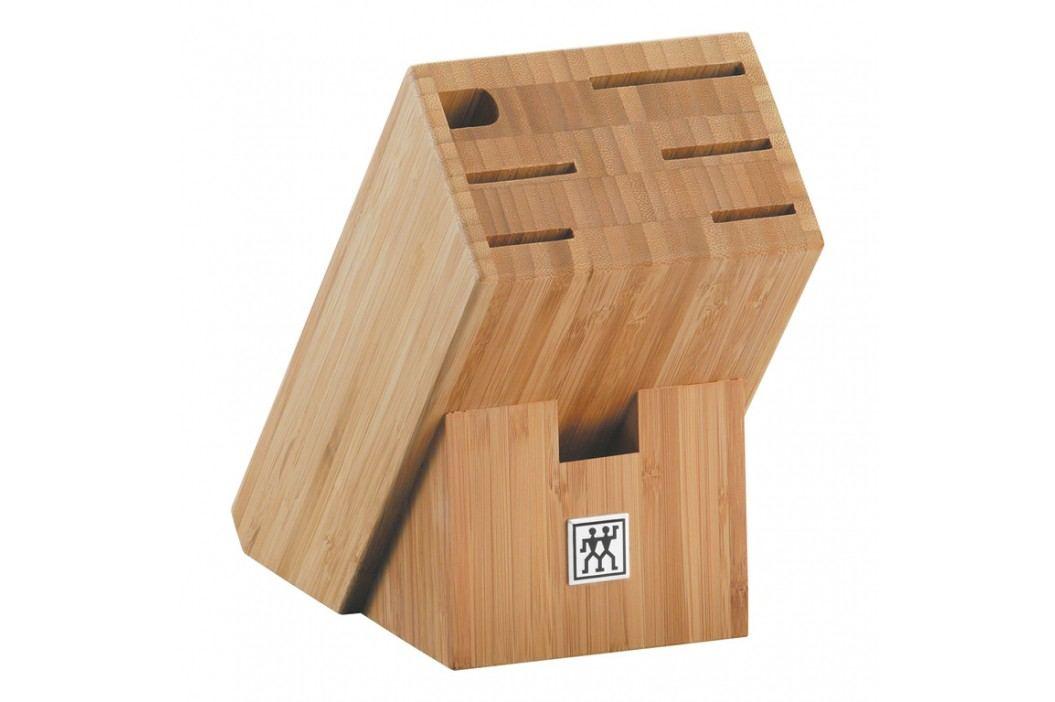ZWILLING Blok na nože skosený bambusový na 7 kusov