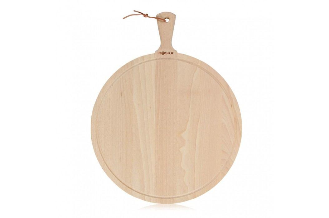 Boska Drevená okrúhla doska na pizzu Amigo XL