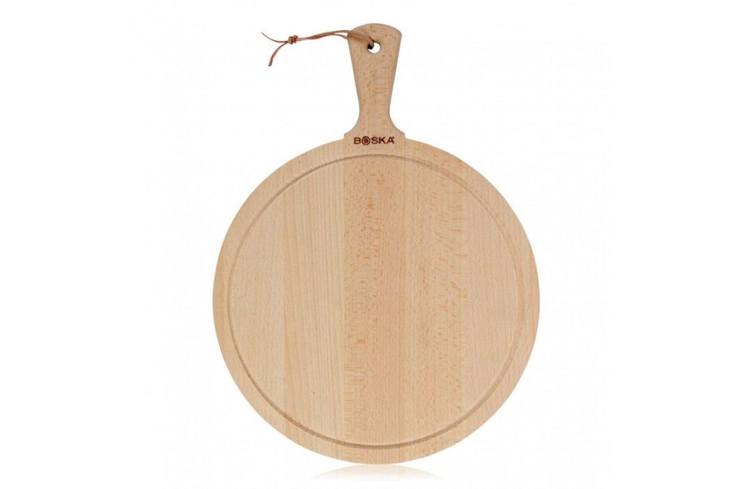 Boska Drevená okrúhla doska na syr Amigo L