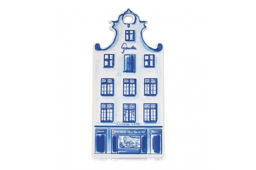 Boska Keramická doska na syr Gouda Delft Blue