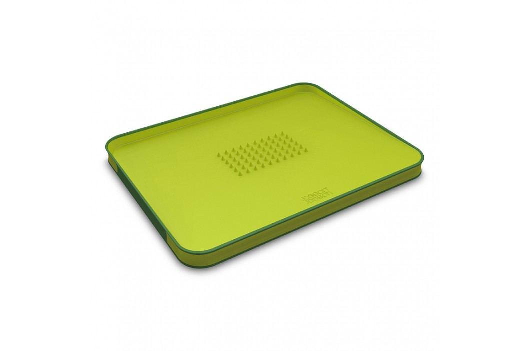 Joseph Joseph Multifunkčná doska na krájanie s výstupkami veľká zelená Cut&Carve™ Plus