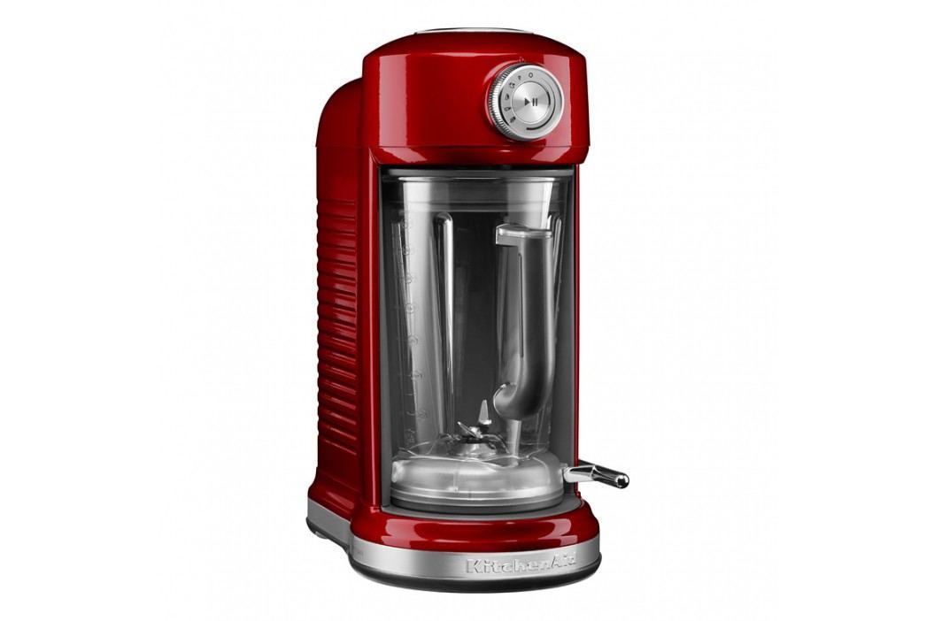 KitchenAid Stolný mixér s magnetickým pohonom Artisan červená metalíza