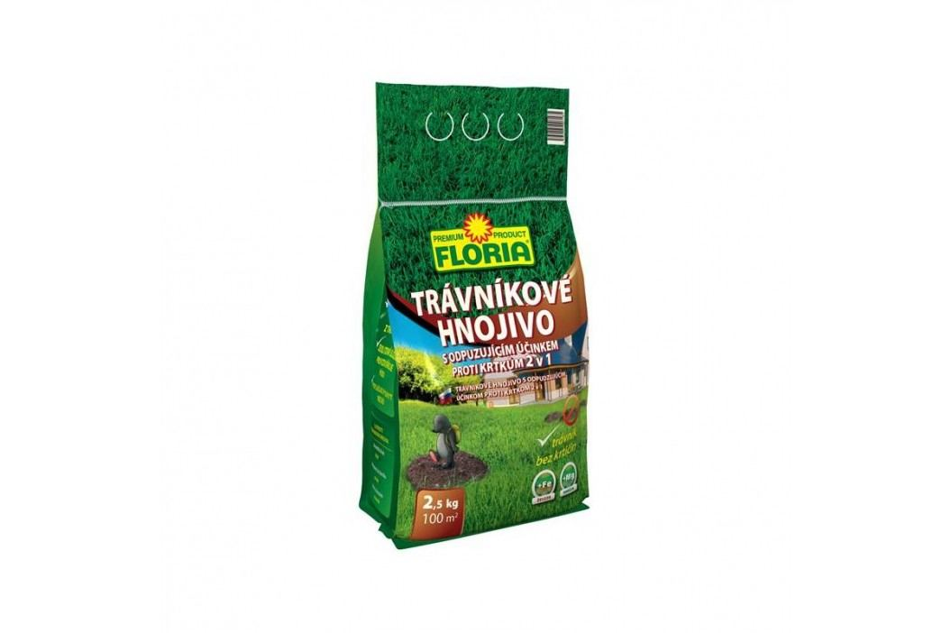 Hnojivo Agro FLORIA s odpuzujícím účinkem proti krtkům 2,5 kg
