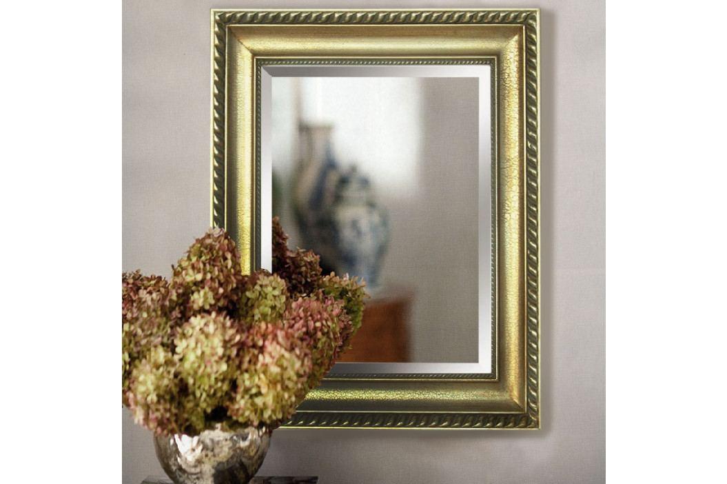 TEMPO KONDELA Zrkadlo, zlatý rám, MALKIA TYP 10