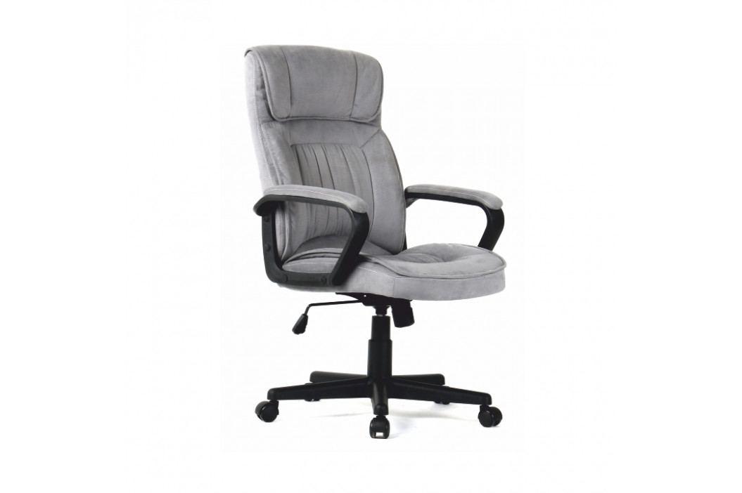 Kancelárske kreslo, sivá, OLBA