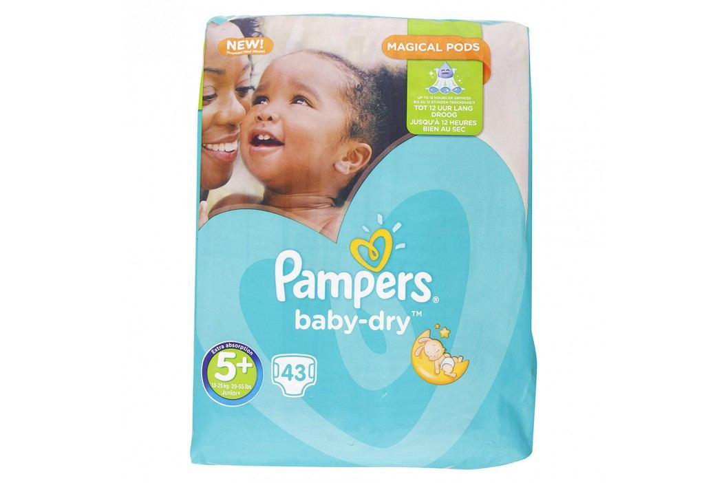 Pampers - Baby-Dry 5+ Junior+ (13-25kg) 43ks