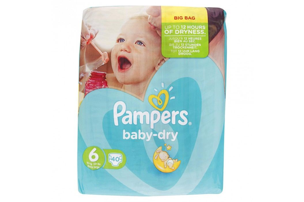 Pampers - Baby-Dry 6 Extra Large (15kg+) 40ks