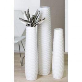 Váza CATANIA L - biela