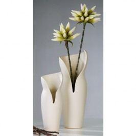 Váza FEMME L - biela
