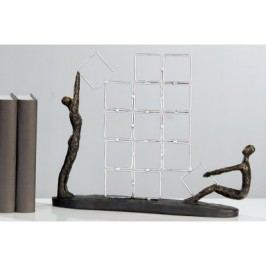 Socha CONSTRUCTION - bronzová