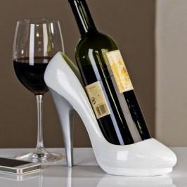 Stojan na víno PUMPS - biela
