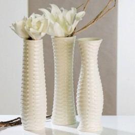 Keramická váza AZERRO - biela
