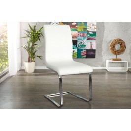 Jedálenská stolička HAMTON - biela