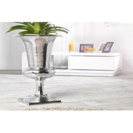 Váza POKAL 60 cm - strieborná