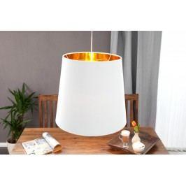 Visiaca lampa SAPHIRE - biela/zlatá