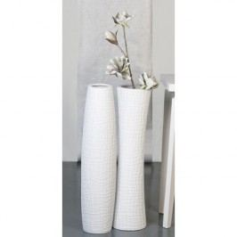 Váza BENITO 77 cm - biela