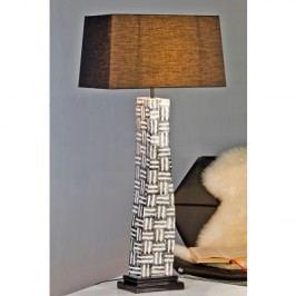 Stolná lampa NETWORK - biela/čierna