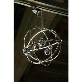 Závesná lampa UNIVERSUM  - strieborná