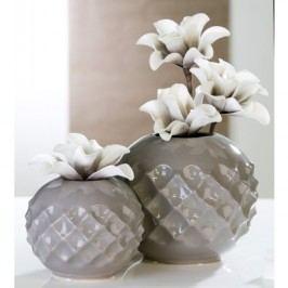 Váza MERIDA - sivá