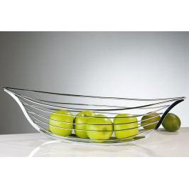 Košík na ovocie BOAT - strieborná