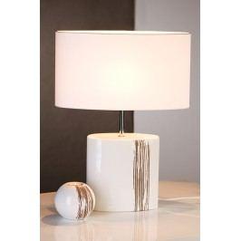 Stolná lampa STRIPES - biela