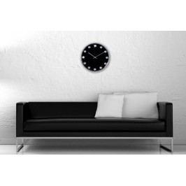 Nástenné hodiny INGOY - čierna